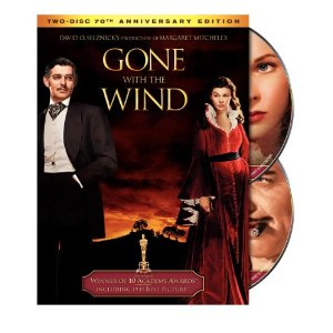 dvd gone with the wind