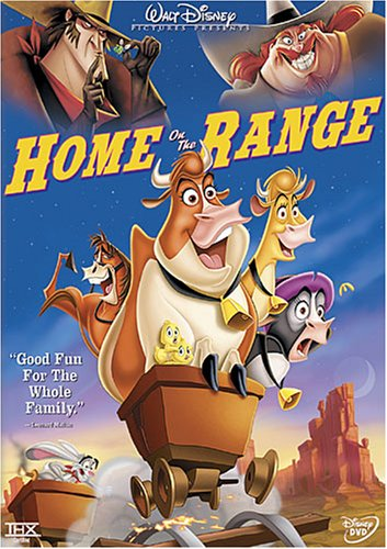 dvd home on the range